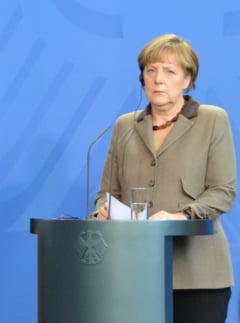 Merkel avertizeaza: Regimul de incetare a focului in estul Ucrainei este incalcat