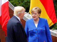 Merkel ii da replica lui Trump, dupa ce presedintele SUA a spus ca germanii sunt rai