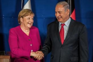 "Merkel il asigura pe Netanyahu de ""solidaritatea"" Berlinului cu Israelul"