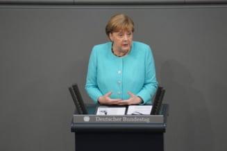 """Merkel intoarce foaia cu Putin: """"Vrem sa raspundem provocarilor si atacurilor hibride ale Rusiei"""""""