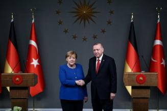 Merkel si Erdogan fac apel contra propagarii haosului in Libia