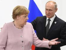 Merkel si Putin au convenit ca estul separatist al Ucrainei trebuie sa primeasca un statut special