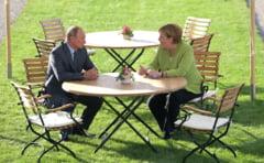 Merkel versus Putin - rufele se spala in spatele usilor inchise