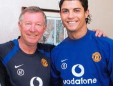 Mesaj emotionant trimis de Cristiano Ronaldo catre Sir Alex Ferguson