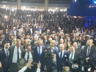 Mesaj puternic al popularilor europeni, veniti la Bucuresti: Lupta pentru viitorul Europei se da aici, in Romania