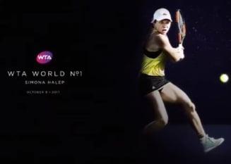 Mesaj special transmis de WTA pentru Simona Halep