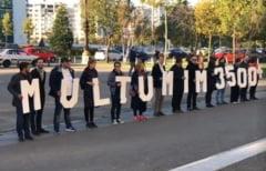 Mesaje de multumire in fata tribunalelor din tara pentru magistratii care cer retragerea proiectului pe Legile Justitiei (Video)