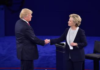 Mesajele emotionante ale lui Donald Trump si Hillary Clinton inaintea votului