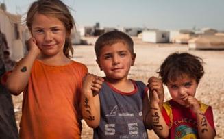 Mesajele emotionate ale refugiatilor din Siria (Galerie foto)