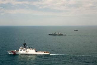 """Mesajul Ambasadei SUA dupa ce nava USS Hamilton a patrulat impreuna cu fregata Marasesti: """"Natiunile noastre sunt mai puternice impreuna"""""""