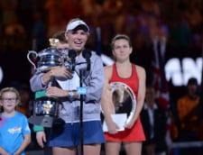 Mesajul Simonei Halep pentru Caroline Wozniacki