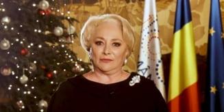 Mesajul Vioricai Dancila de Anul Nou (Video)
