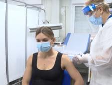 """Mesajul dur, dupa vaccinarea cu Pfizer a Simonei Halep: """"D-aia nu va haleste populatia, papagalilor..."""""""
