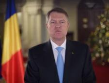 Mesajul lui Iohannis de Anul Nou: Nu va pierdeti increderea in Romania! (Video)