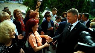 Mesajul lui Iohannis in fata femeilor: Gata cu scandalul!