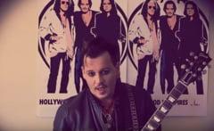Mesajul lui Johnny Depp pentru fanii din Romania inainte de marele concert (Video)