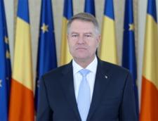 Mesajul lui Klaus Iohannis de Anul Nou: Apel la curaj si implicare civica (Video)