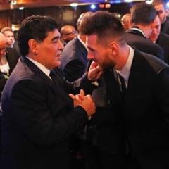 """Mesajul lui Messi dupa moartea lui Maradona. """"Ne paraseste, dar nu pleaca, pentru ca Diego este etern"""""""