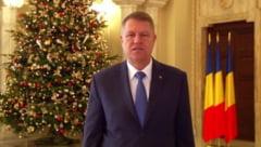Mesajul presedintelui Iohannis de Anul Nou: La multi ani, dragi romani, oriunde v-ati afla! (Video)