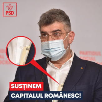 """Mesajul transmis de Ciolacu dupa viralizarea imaginilor cu banii care ii ies din haina: """"Asta inseamna transparenta. Sustinem capitalul romanesc"""""""