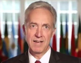 Mesajul transmis de noul ambasador SUA in limba romana