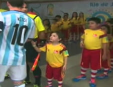 Messi, gest incredibil la adresa unui copil