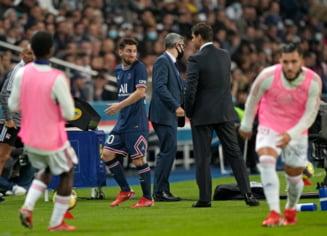 Messi, ghinion cât casa la primul derby jucat pentru PSG! Superstarul argentinian a fost schimbat după pauză și nu a vrut sa dea mâna cu antrenorul VIDEO