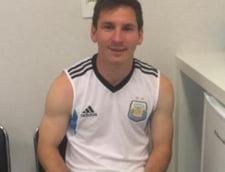 Messi, impiedicat sa se bucure dupa calificarea Argentinei in finala CM 2014