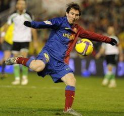 Messi, jucatorul anului in Spania