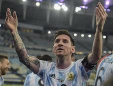 Messi, momente unice pe Maracana. Superstarul argentian a plans ca un copil dupa primul trofeu castigat cu nationala VIDEO EMOTIONANT