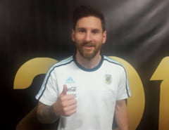 Messi, record istoric intr-un meci de vis pentru Argentina (Video)