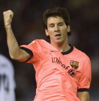 Messi, sclipitor pentru FC Barcelona (Video)