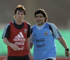 """Messi, socat de moartea lui Maradona. """"Nu mi-a venit sa cred. A fost ceva teribil"""""""