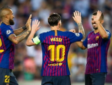 Messi a depasit recordul lui Cristiano Ronaldo dupa evolutia superba din Champions League