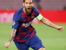 Messi a revenit la antrenamentele echipei FC Barcelona