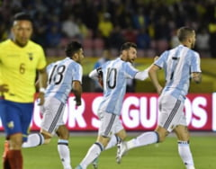 Messi a salvat Argentina de la o rusine istorica (Video)