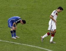 Messi a vomitat in timpul finalei CM 2014