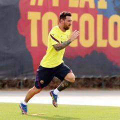 Messi ar fi inregistrat o declaratie in care anunta ca ramane la Barcelona