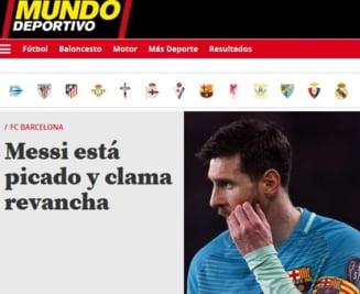 Messi promite razbunare dupa umilinta din Liga Campionilor