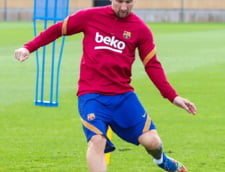 Messi s-a antrenat pentru prima data sub conducerea antrenorului Ronald Koeman
