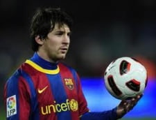 Messi sparge noi bariere in fotbal