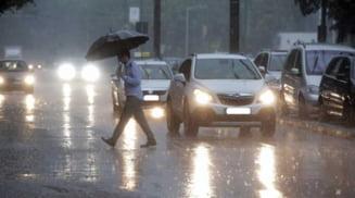 Meteorologii anunta averse, descarcari electrice si vant in Olt. Vreme capricioasa pana miercuri