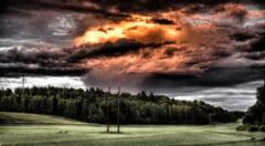 Meteorologii anunta vreme instabila in cea mai mare parte a tarii. Avertizarea, valabila pana sambata dimineata