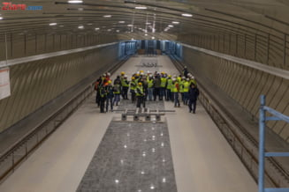 Metrorex se lauda ca termina metroul din Drumul Taberei, dupa o intarziere de 4 ani. Cum arata acum statiile (Galerie foto)