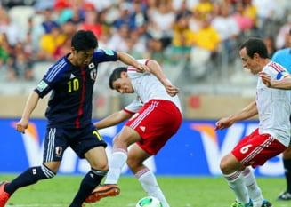 Mexic, victorie de palmares cu Japonia la Cupa Confederatiilor