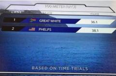 Michael Phelps s-a luat la intrecere cu un... rechin Marele Alb: Vezi cine a castigat (Video)