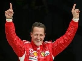 Michael Schumacher a iesit din coma si a fost externat