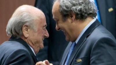 Michel Platini si Joseph Blatter, actionati in justitie in Elvetia. Acuzatii de escrocherie si abuz de incredere