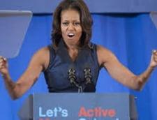Michelle Obama, apel catre americani: Beti mai multa apa! (Video)
