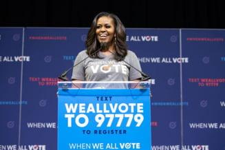 Michelle Obama, cea mai admirata femeie de americani. A detronat-o pe Hillary Clinton dupa 17 ani